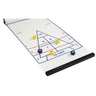 Roll-Up Shuffleboard