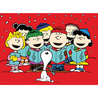 Carolers 100 Large Piece Jigsaw Puzzle