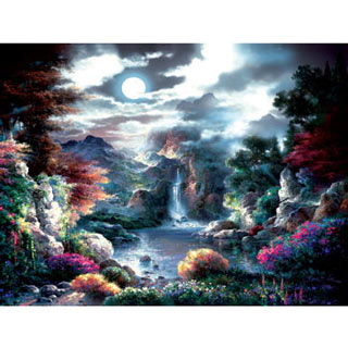 Full Moon 1000 Piece Jigsaw Puzzle