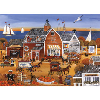 Seaside Antiques 300 Large Piece Jigsaw Puzzle