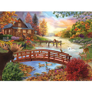 Autumn Evening 1000 Piece Jigsaw Puzzle