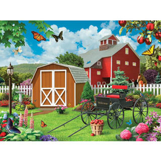 Barnyard Beauties 300 Large Piece Jigsaw Puzzle