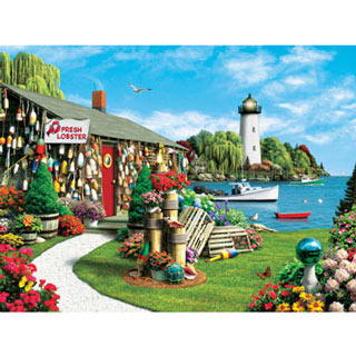Lobster Bay 300 Large Piece Jigsaw Puzzle