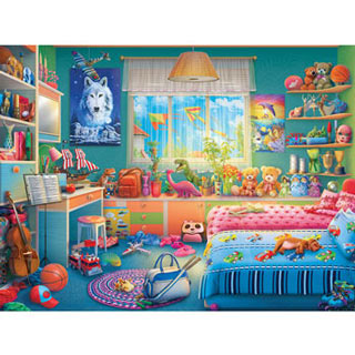 Annie's Hideaway 550 Piece Jigsaw Puzzle