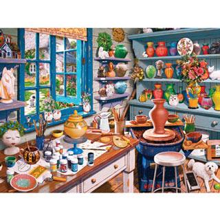 Garden Getaway 550 Piece Jigsaw Puzzle