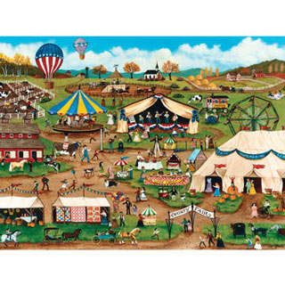 Country Fair 750 Piece Jigsaw Puzzle