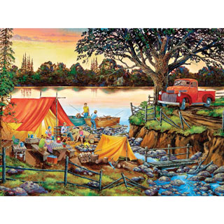 Happy Hour 300 Large Piece Jigsaw Puzzle