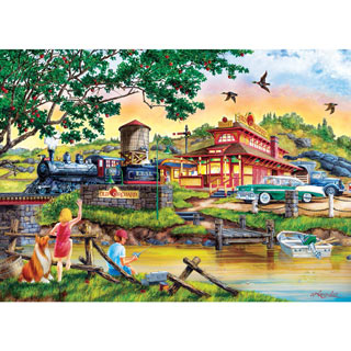 Apple Express 1000 Piece Jigsaw Puzzle