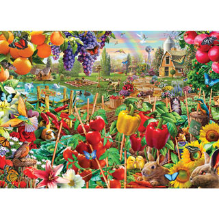 A Plentiful Season 1000 Piece Jigsaw Puzzle