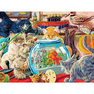 Something's Fishy 300 Large Piece Jigsaw Puzzle