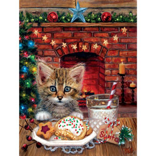 A Surprise for Santa 500 Piece Jigsaw Puzzle