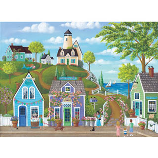 Seaside Stroll 500 Piece Jigsaw Puzzle
