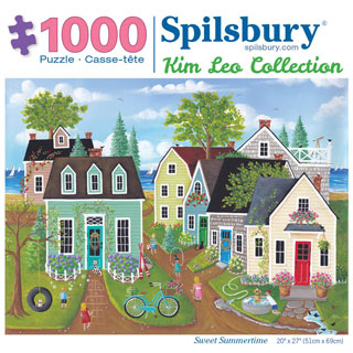 Sweet Summertime 1000 Piece Jigsaw Puzzle