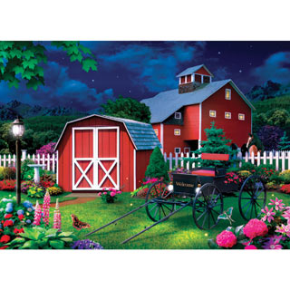 Midnight Glow 1000 Piece Jigsaw Puzzle