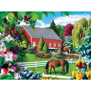 Leaves of Green II 1000 Piece Jigsaw Puzzle