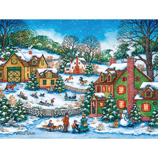 The Joys of the Season 550 Piece Jigsaw Puzzle