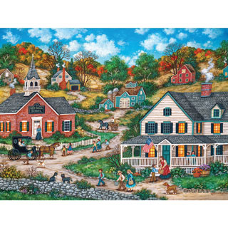 School Days 1000 Piece Jigsaw Puzzle
