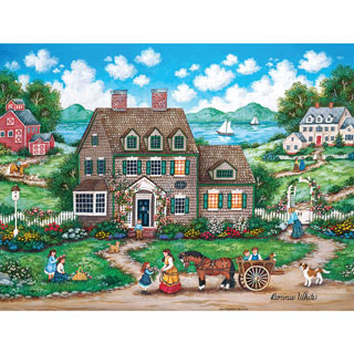 Cottage Gardens 1000 Piece Jigsaw Puzzle