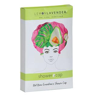Avocado Shower Cap