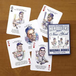 Yankees - Baseball Heroes Playing Cards