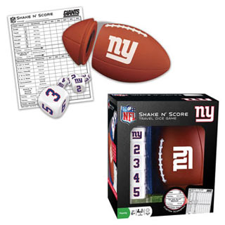 NFL Shake n' Score Game - NY Giants