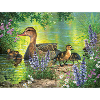 On A Field Trip 300 Large Piece Jigsaw Puzzle