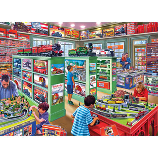 The Lionel Store 1000 Piece Jigsaw Puzzle