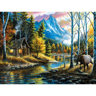 Peaceful Setting 300 Large Piece Jigsaw Puzzle