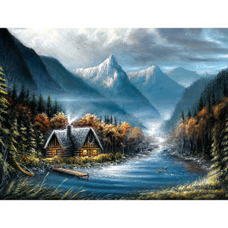 Lost Creek 500 Piece Jigsaw Puzzle