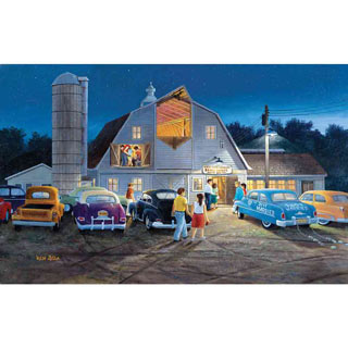 Country Barn Dance 300 Large Piece Jigsaw Puzzle