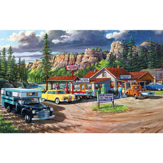 Edge of the Heartland 550 Piece Jigsaw Puzzle
