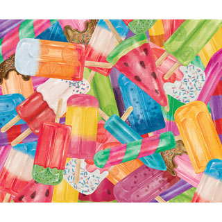 Popsicles 1000 Piece Jigsaw Puzzle