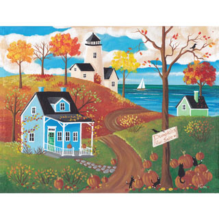 First Day of Autumn 300 Large Piece Jigsaw Puzzle