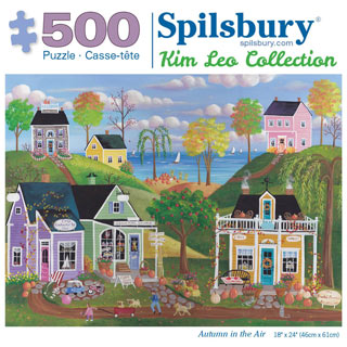 Autumn in the Air 500 Piece Jigsaw Puzzle
