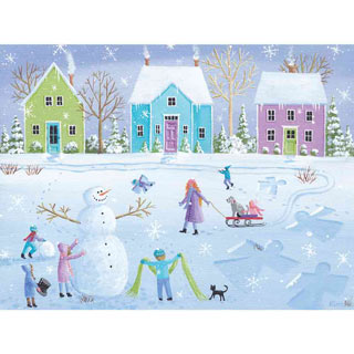 Snow Day 500 Piece Jigsaw Puzzle