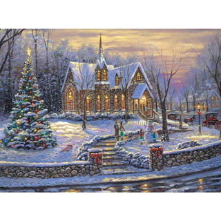Christmas Tree 1000 Piece Jigsaw Puzzle