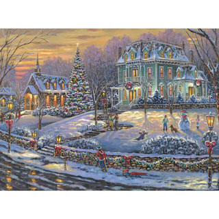 Merry Christmas to All 1000 Piece Jigsaw Puzzle