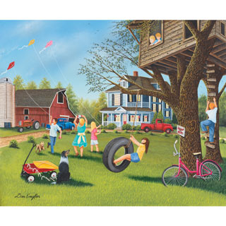 Summer Play 1000 Piece Jigsaw Puzzle