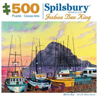 Morro Bay 500 Piece Jigsaw Puzzle