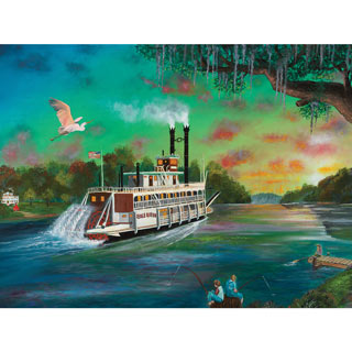 The Creole Queen 500 Piece Jigsaw Puzzle
