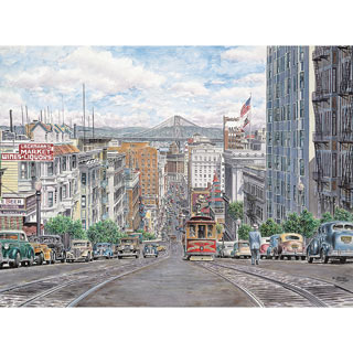 Down California 500 Piece Jigsaw Puzzle