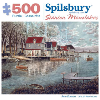 Rum Runners 500 Piece Jigsaw Puzzle