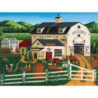 Jodie's Antique Barn 550 Piece Jigsaw Puzzle