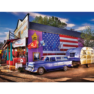 Seligman Route 66 300 Large Piece Jigsaw Puzzle