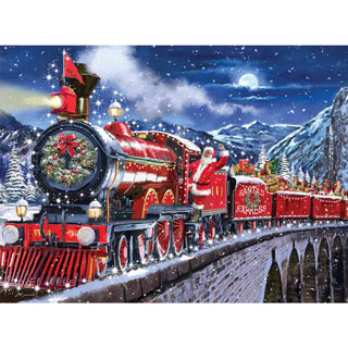 Santa Express 300 Large Piece Jigsaw Puzzle
