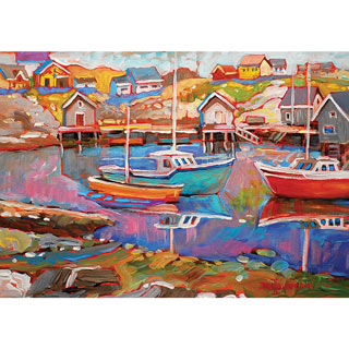 Peggy's Cove 300 Large Piece Jigsaw Puzzle