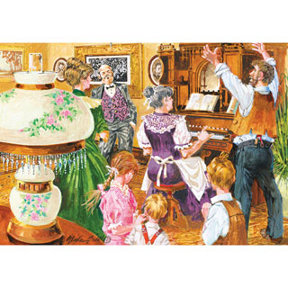 The Rousing Chorus 1000 Piece Jigsaw Puzzle