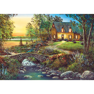 Stonybrook Cottage 1000 Piece Jigsaw Puzzle