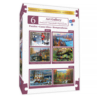 6 in 1 Art Gallery Multipack