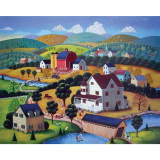 Nostalgic Autumn 1000 Piece Jigsaw Puzzle